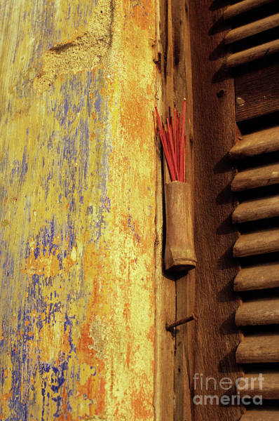 Hoi An Photograph - Incense 01 by Rick Piper Photography