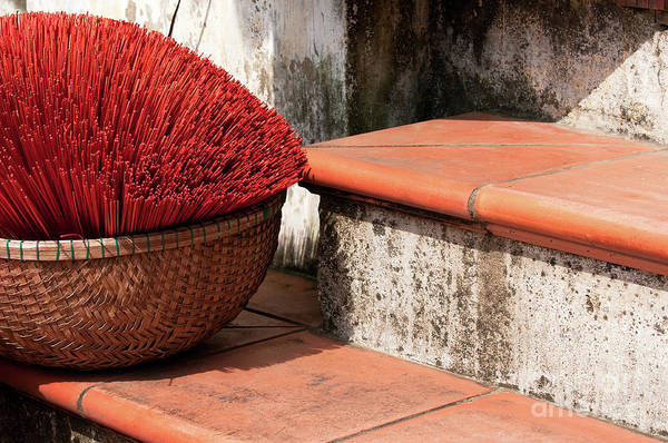 Hoi An Photograph - Incense 02 by Rick Piper Photography