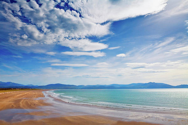 Big Sandy Photograph - Inch Beach, Dingle Peninsula, County by Panoramic Images