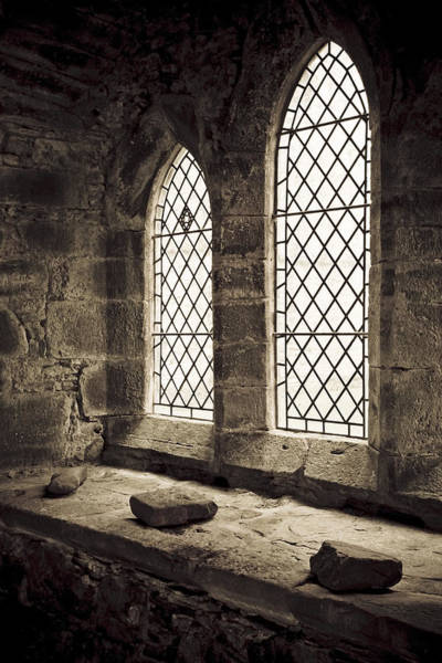 Church Of Scotland Wall Art - Photograph - Inchmahome Priory by David Taylor