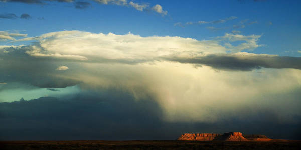 Grand Staircase National Monument Photograph - Incoming Storm by Andrew Soundarajan