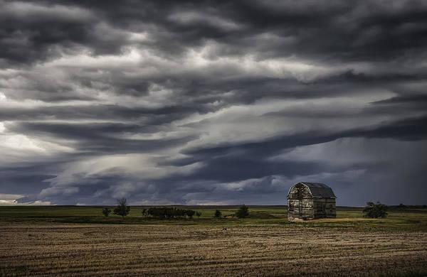 Lethbridge Photograph - Incoming Storm by Karen Kane
