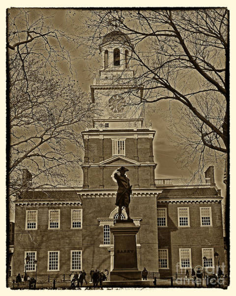Wall Art - Photograph - Independence Hall by Jack Paolini