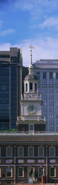 Declaration Of Independence Photograph - Independence Hall Pa by Panoramic Images