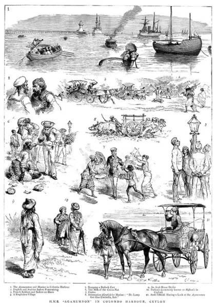 Wall Art - Painting - India Ceylon, 1885 by Granger
