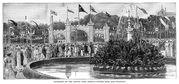 Wall Art - Painting - India Golden Jubilee, 1887 by Granger