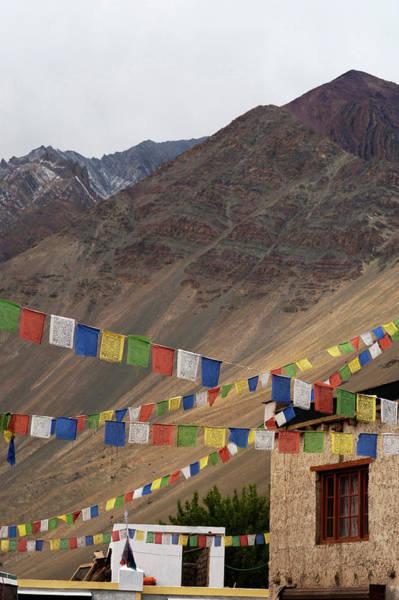 Himalaya Wall Art - Photograph - India, Ladakh, Alchi, Colorful Buddhist by Anthony Asael