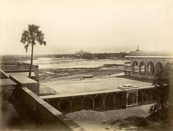 Wall Art - Photograph - India View Of Taj Mahal by Granger