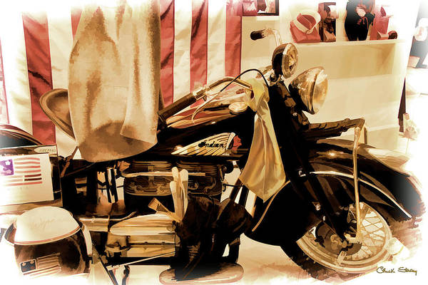 Photograph - Indian Bike by Chuck Staley