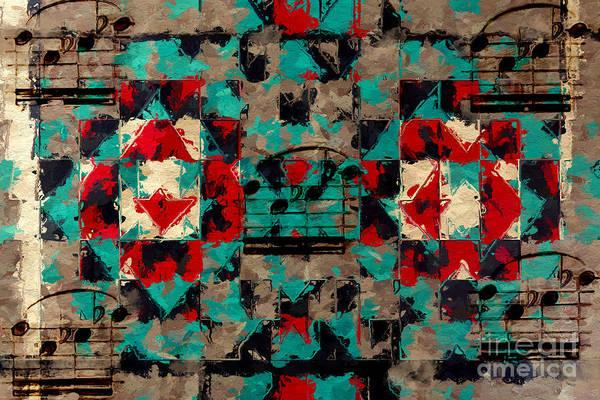 Digital Art - Indian Blanket Quintet by Lon Chaffin