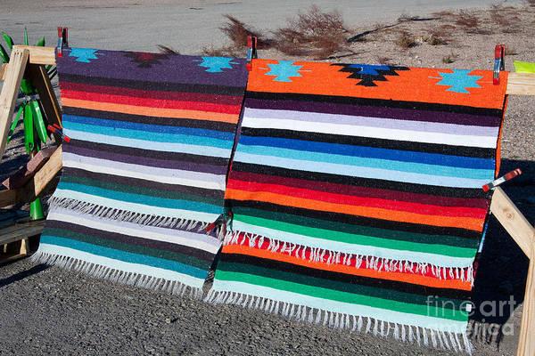 Photograph - Indian Blankets by Gunter Nezhoda
