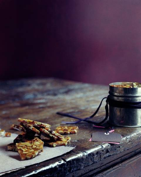 Cooking Photograph - Indian Brittle by Romulo Yanes