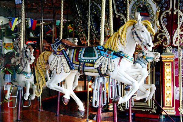 Photograph - Indian Carousel Horse by Alice Gipson
