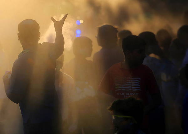 Photograph - Indian Celebration Of Holi by John King