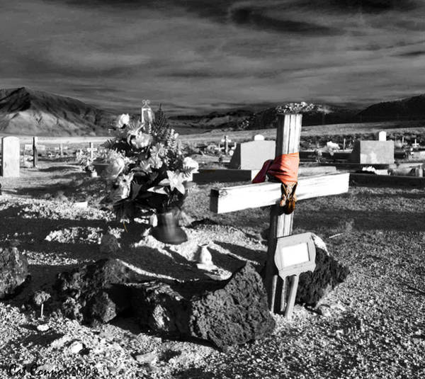 Eastern Sierra Photograph - Indian Cemetary by Cat Connor