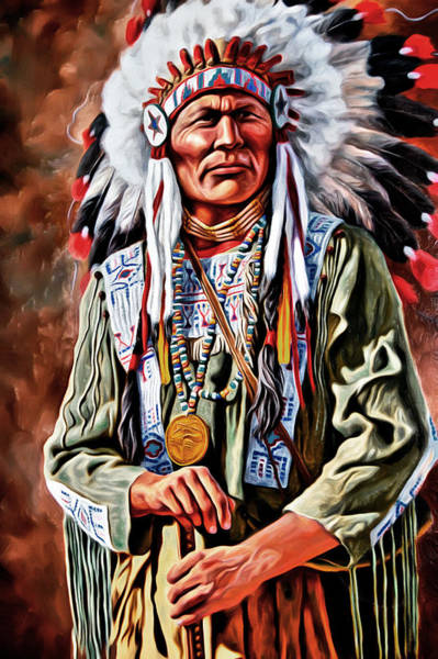Photograph - Indian Chief by Carlos Diaz