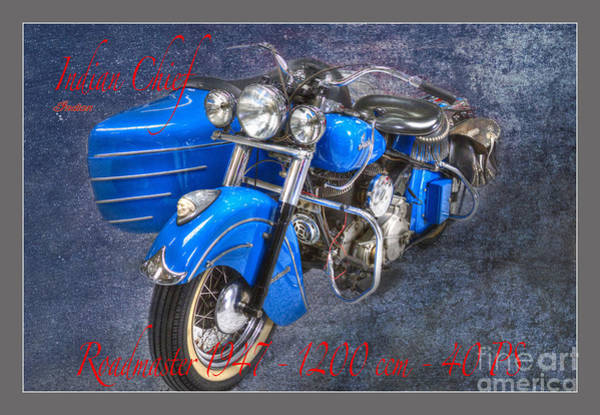 Photograph - Indian Chief Motorcycle Legend by Heiko Koehrer-Wagner
