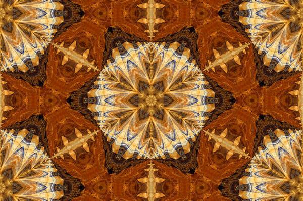 Algorithm Digital Art - Indian Cloth by Georgiana Romanovna