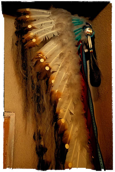 Photograph - Indian Feathered Headdress by David Patterson