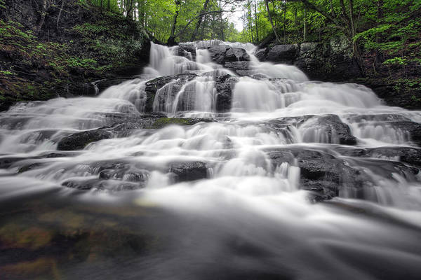 Photograph - Indian Ladder Falls by Dawn J Benko