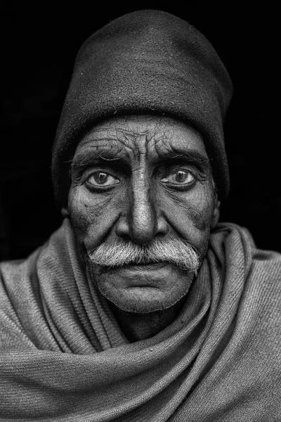 Wise Wall Art - Photograph - Indian Man by Haitham Al Farsi