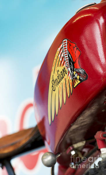 Wall Art - Photograph - Indian Motorcycle Abstract by Tim Gainey