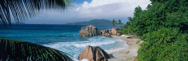 Southeastern Photograph - Indian Ocean La Digue Island Seychelles by Panoramic Images