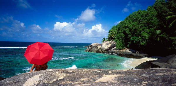 Sunbather Photograph - Indian Ocean Moyenne Island Seychelles by Panoramic Images