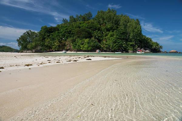 Oceanfront Photograph - Indian Ocean, Seychelles, Mahe, St by Cindy Miller Hopkins