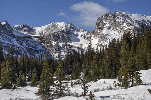 Indian Peaks Wilderness Photograph - Indian Peaks by Aaron Spong