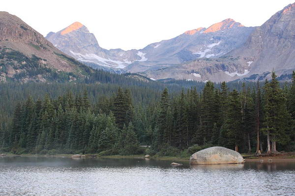 Indian Peaks Wilderness Photograph - Indian Peaks by Eric Glaser