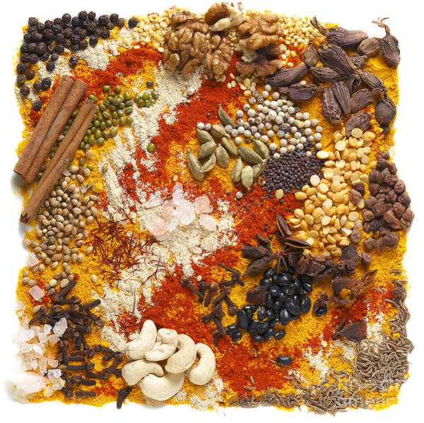 Photograph - Indian Pulses And Spices by Paul Cowan