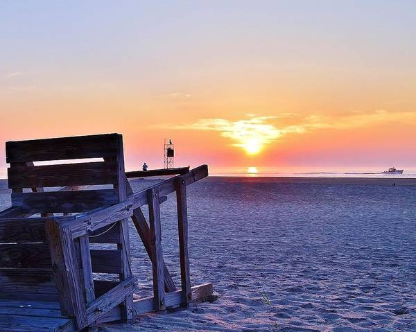 Photograph - Indian River Inlet Sunrise - Delaware by Kim Bemis