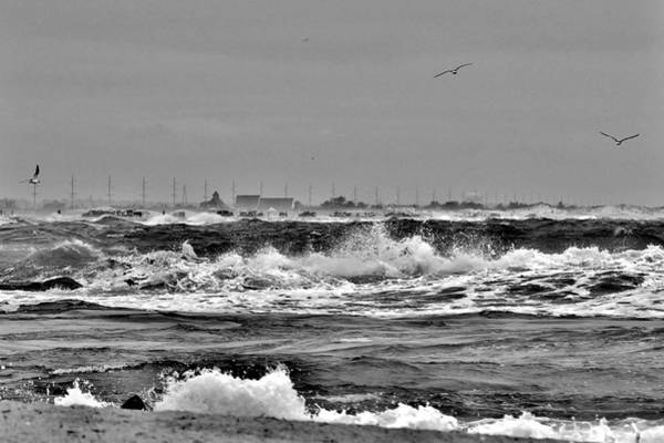 Photograph - Indian River Life-saving Station - Black And White by Kim Bemis