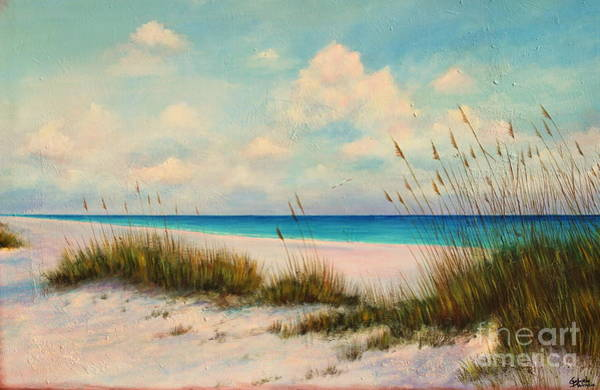 Wall Art - Painting - Indian Rock Beach Florida by Gabriela Valencia