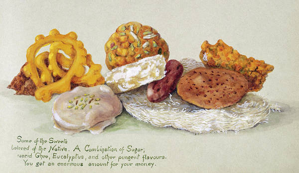 Fanny Photograph - Indian Sweets by Natural History Museum, London/science Photo Library