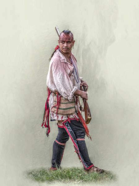 Musket Digital Art - Indian Warrior Two Grand Encampment  by Randy Steele