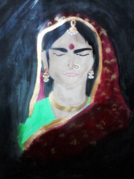 Kannan Painting - Indian Women by Sadhana Kannan