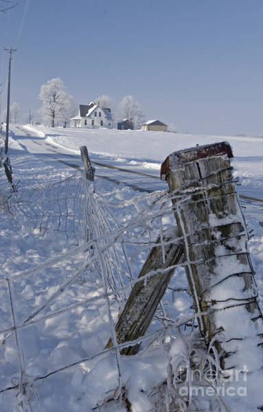 Photograph - Indiana Farm by Jim West