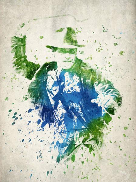 Wall Art - Digital Art - Indiana Jones  by Aged Pixel