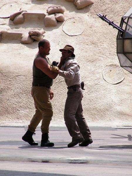 Photograph - Indiana Jones Fight by Ronda Douglas