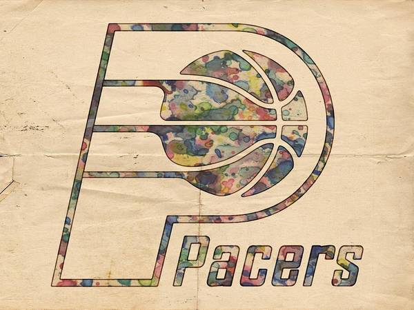 Painting - Indiana Pacers Poster Art by Florian Rodarte