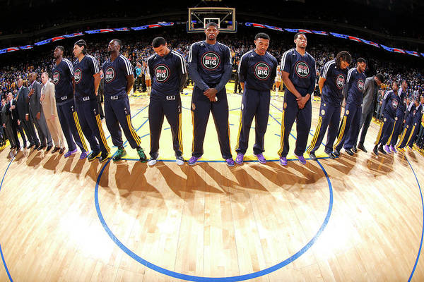 Oracle Team Usa Photograph - Indiana Pacers V Golden State Warriors by Rocky Widner