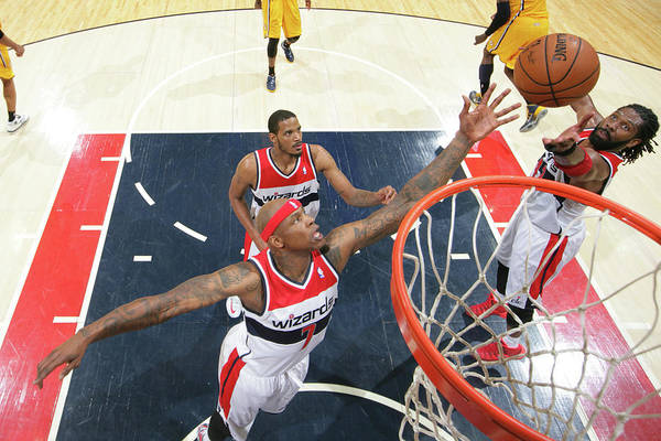 Playoffs Photograph - Indiana Pacers V Washington Wizards - by Ned Dishman