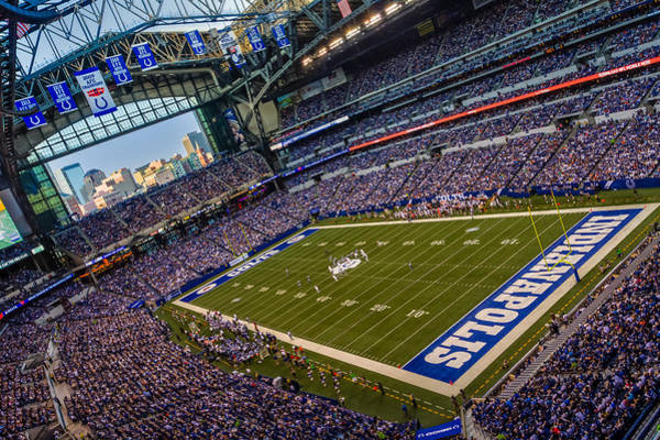 Photograph - Indianapolis And The Colts by Ron Pate