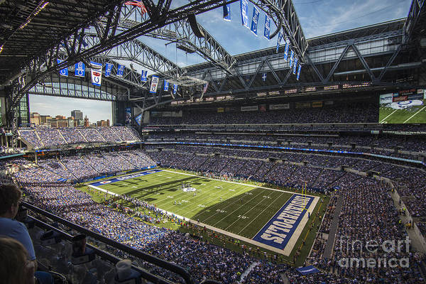 Photograph - Indianapolis Colts 1 by David Haskett II