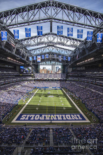 Photograph - Indianapolis Colts 2 by David Haskett II