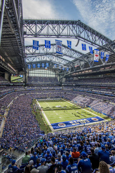 Photograph - Indianapolis Colts Lucas Oil Stadium 106 by David Haskett II