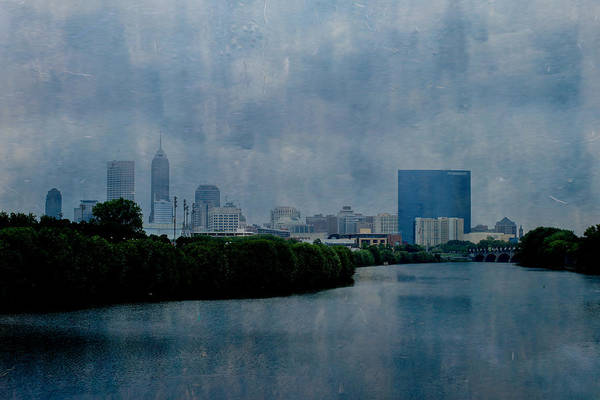 Photograph - Indianapolis Indiana Storm Art by David Haskett II