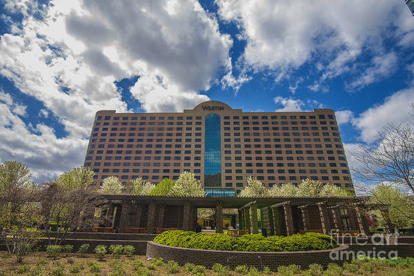 Photograph - Indianapolis Indiana Westin Hotel by David Haskett II